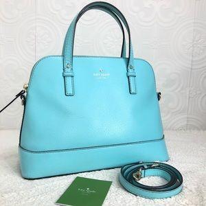 🌸OFFERS?🌸Kate Spade Leather TiffanyBlue Satchel